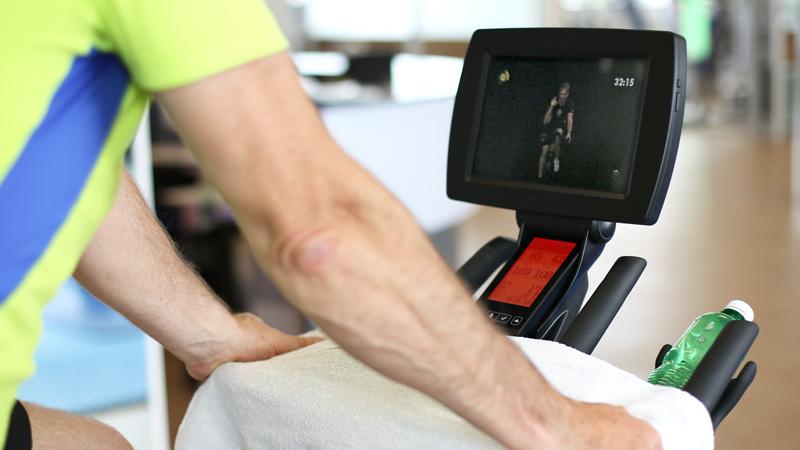 Virtuelles Spinning Fitness Widnau