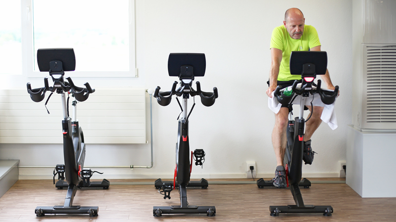 Virtuelles Spinning Fitness Widnau